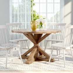 "Alpena Dining Table Size: 30"" H x 54"" L x 54"" W"