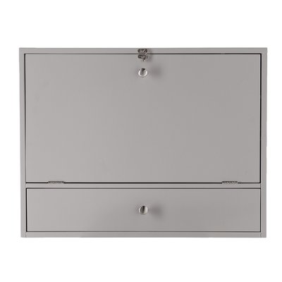 Ardilla Floating Desk Color: Gray