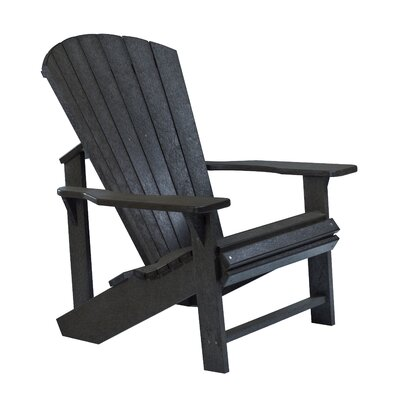 Generations Adirondack Chair Color: Black