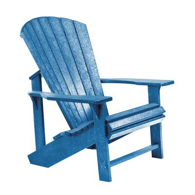 Generations Adirondack Chair Color: Blue