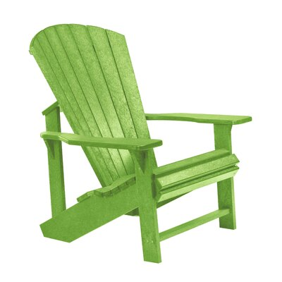 Generations Adirondack Chair Color: Kiwi Green