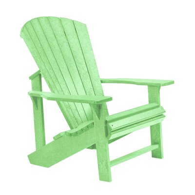 Generations Adirondack Chair Color: Lime Green