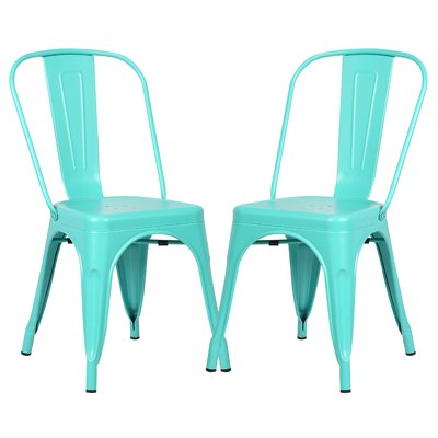 Chelsea Dining Chair Color: Aqua