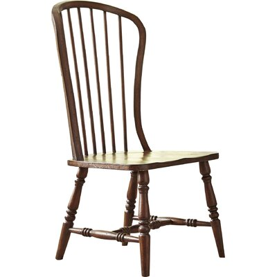 Abbott Solid Wood Dining Chair Finish: Mahogany