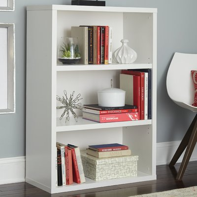 Decorative Standard Bookcase Color: White