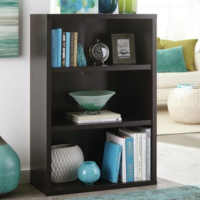 Decorative Standard Bookcase Color: Black Walnut