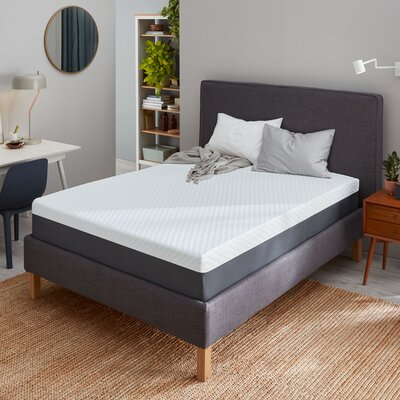 "Beautyrest 12"" Medium Gel Memory Foam Mattress Mattress Size: Twin"