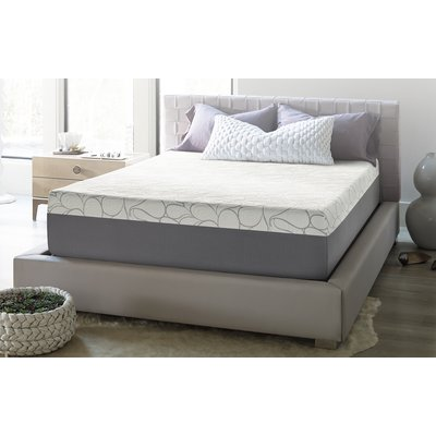 "Beautyrest 14"" Firm Gel Memory Foam Mattress Mattress Size: California King"